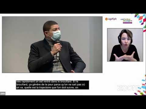 """Video AGEFIPH - URRH 2020 Conférence inspirante : """"Tous fragiles...Tous unis"""""""