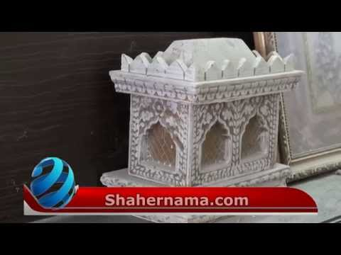 Making of wooden and fiber Tazias -Zarih in Lucknow