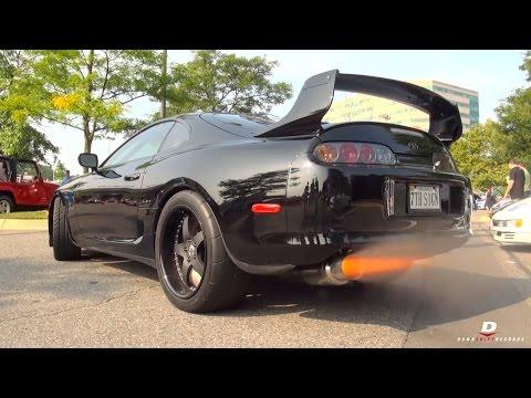 1600HP Toyota Supra 2-Step Revs // Acceleration