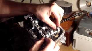 3. KTM 250 Motor inspection