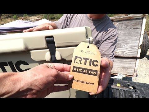DON'T BUY A YETI COOLER UNTIL YOU WATCH THIS VIDEO! (RTIC Cooler Unboxing)