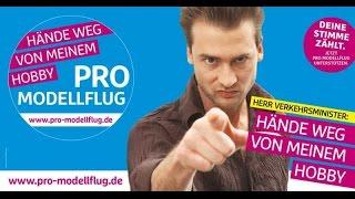 Finger weg von meinem Hobby! http://www.pro-modellflug.de/petition/ Unsere Facebook Gruppe: Die RC Modellbauer https://www.facebook.com/groups/dieRCModellb...
