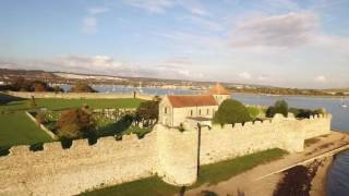 Discover our city, today: PORCHESTER CASTLE & PORT SOLENT