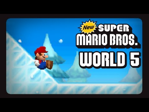 new super mario bros nintendo ds walkthrough