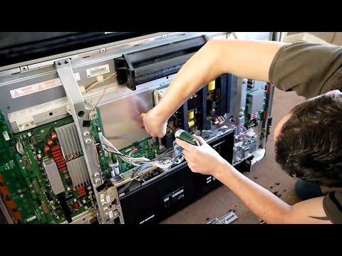 Своими руками ремонт телевизоров самсунг