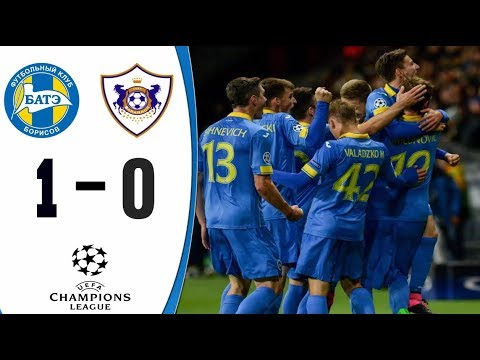 Qarabag 0 - 1 Bate : Champions League 2018/2019