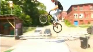 How To Apply Basic BMX Skills : How to Jump a BMX Bike Ramp