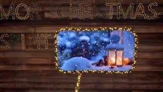 Christmas Lights Letters V2.0 4k