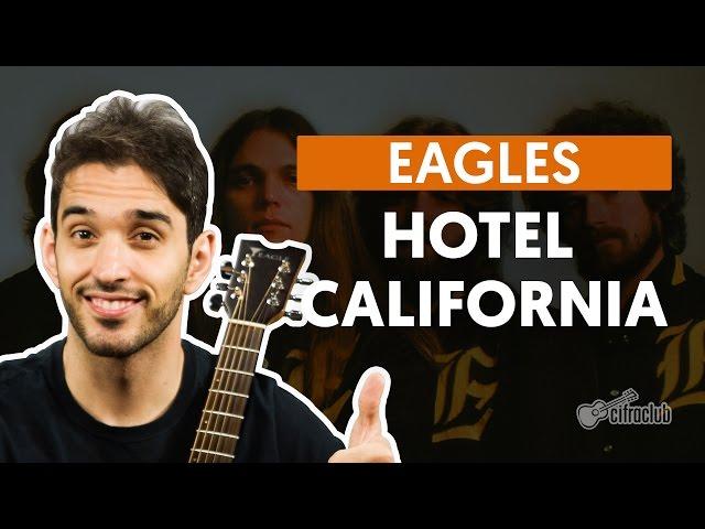 youtube hotel california unplugged