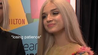 Video Poppy being savage af for 2 and a half minutes straight MP3, 3GP, MP4, WEBM, AVI, FLV November 2018