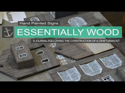 Hand Painted Signs   Essentially Wood   Shipyard at Foss Journal entry #4