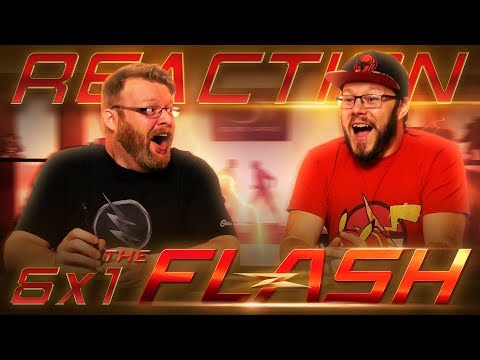 """The Flash 6x1 REACTION!! """"Into the Void"""""""