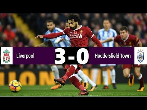 Liverpool Vs Huddersfield Town Premier League Highlights(28-10-2017)