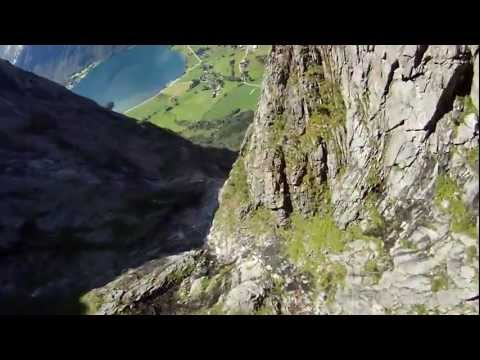 Wing Suit Gliding In Norway By Tiger Odd-Martin