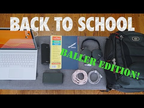 Awesome Back to School Tech 2016! (BALLER EDITION)