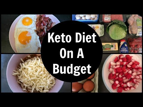 Atkins diet - Keto Diet On A Budget  Food Haul, Prep and Meal Ideas