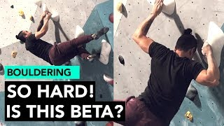 Hard Dynamic Move CRUX: Is this beta!? by  rockentry