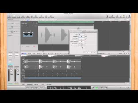 Logic Pro: Audio To MIDI Groove Template (Using Audio Loop Samples)