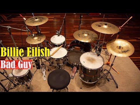 Billie Eilish -  Bad Guy  Juan Montaña  - Drum Cover 