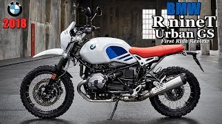 9. 2018 BMW R nineT Urban GS First Ride Review