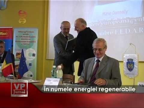 În numele energiei regenerabile