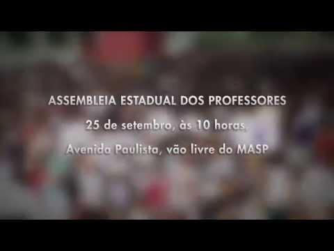 Chamada Assembleia dos Professores 25/09 as 10h