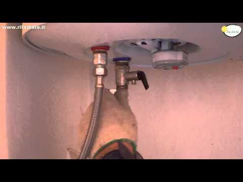 Come installare scaldabagno