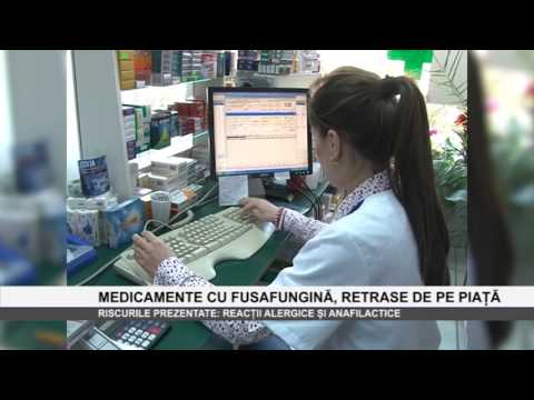 Medicamente cu fusafungina retrase de pe piata - www.columnatv.ro