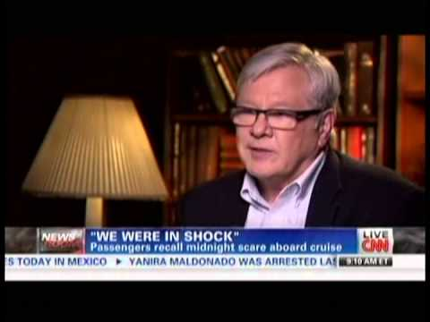 Miami Maritime Lawyer Jack Hickey on CNN's Starting Point: Grandeur of the Seas Fire