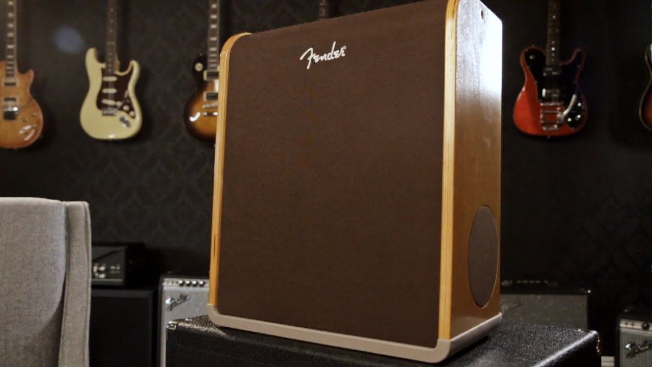 Fender Acoustic SFX Guitar Stereo Amp