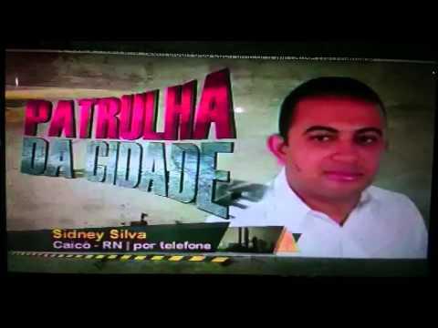 Papinha fala sobre arrombamento de caixa eletrônico em Cerro Corá RN - 2015