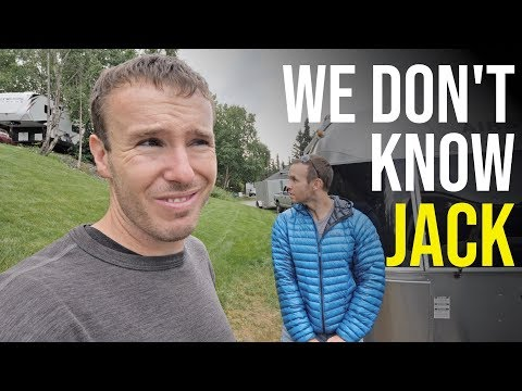 BUT FIRST A Repair! Fixing the BROKEN JACK on our Airstream RV // RV Alaska