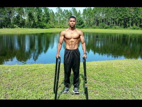 Ultimate Body Press | Dip Bars | Exercises