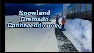 conhecendo snowland em gramado RS. de carro 1h15 de porto alegre. não precisa ter sorte para conhecer a neve. lindo passeio...