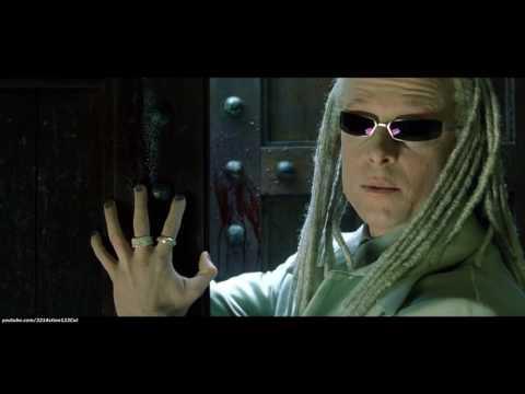 Neo vs  Vampiric Henchmen ''Chateau Fight''   The Matrix  Reloaded 2003 Movie Clip Bluray 4K
