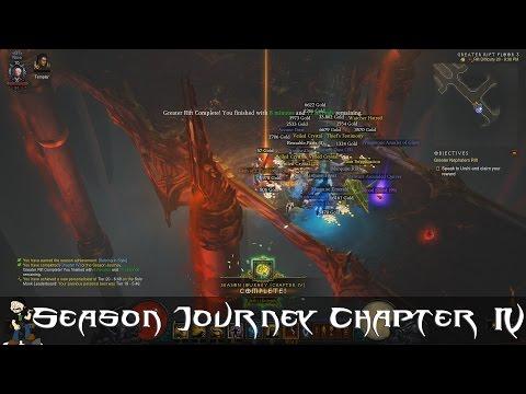 [6] Diablo 3 Hardcore Season 9 Monk - Season Journey Chapter 4 - No Commentary
