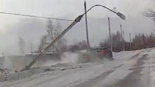 Подборка аварий - четвертая неделя Января