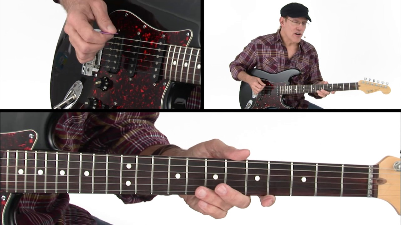 Street Theory – Modes: Parallel Scales Approach – Guitar Lesson – Jeff Scheetz