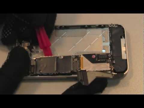 Как заменить дисплей на iphone 4