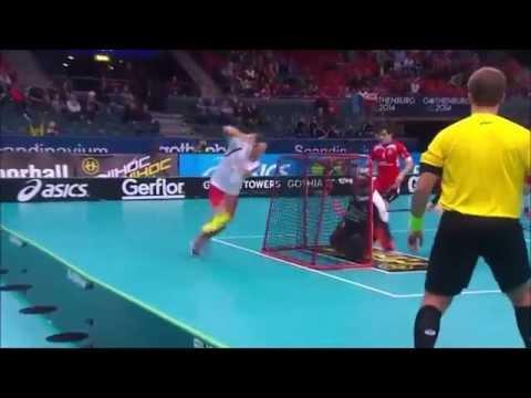 [Floorball] Men's WFC 2014 - CZE v NOR - Ole Mossin Olesen