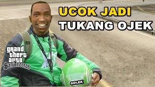 Video UCOK JADI TUKANG OJEK ONLINE - GTA Lucu Indonesia Dyom MP3, 3GP, MP4, WEBM, AVI, FLV Juli 2017