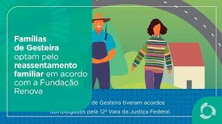 Entenda o acordo feito com as famílias de Gesteira que optaram pelo reassentamento familiar