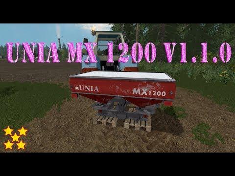 Unia MX 1200 v1.1.0