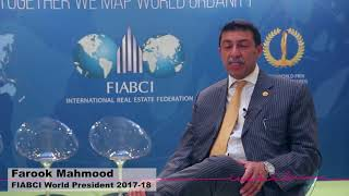 FildAriane FIABCI MIPIM2018 Farook Mahmood at Happy Cities