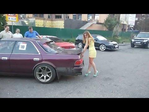 Приколы на дороге забыл поставить машину на ручник  Авто приколы