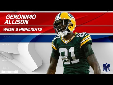 Video: Geronimo Allison Explodes for 122 Yards!