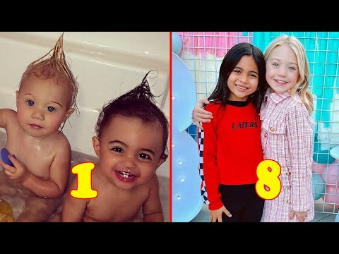 Everleigh and Ava from 0 to 8 Years Old 2020 👉 @Teen Star