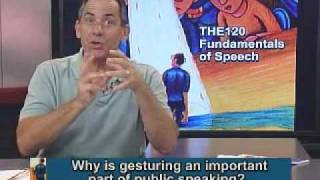 THE120 Fundamentals of Speech  Session Eight 07/11/2010