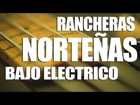 Rancheras Norteñas En Bajo Electrico (Tutorial)