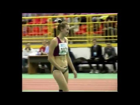 Оксана Окунева 189см. ( Чемпионат Украины в помещении 2016 )